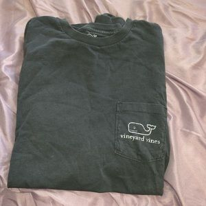 Vineyard Vines Long Sleeve Tee Gray Size Men Small